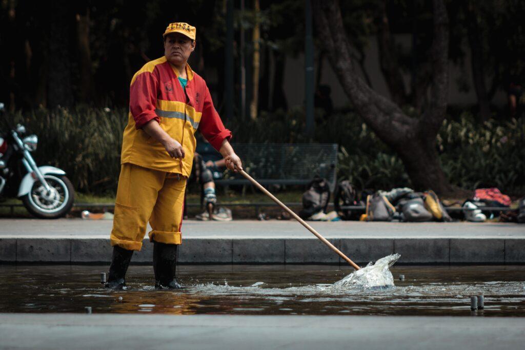 清掃業から転職